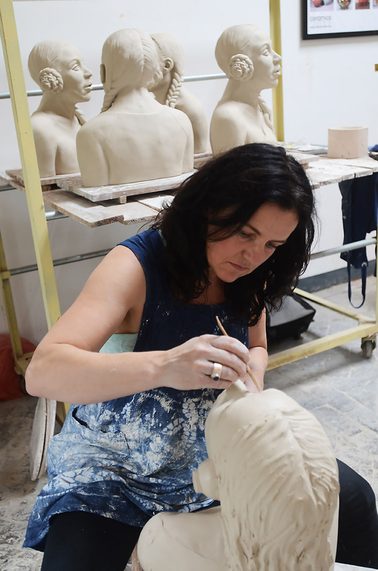 Mariette in atelier 2