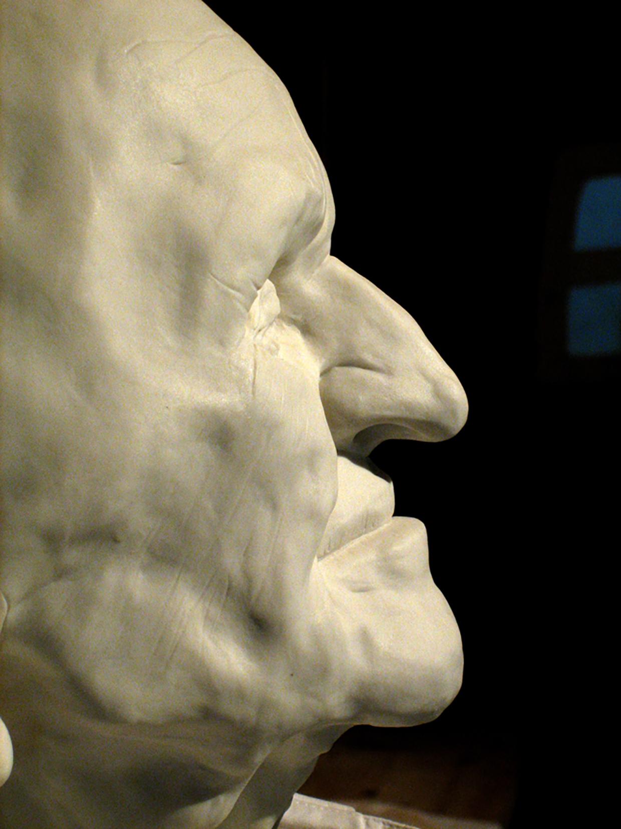 hoofd oude man